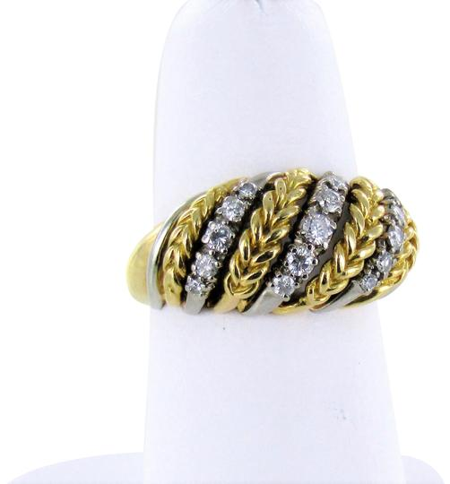 Preload https://item3.tradesy.com/images/two-tone-woman-s-18kt-2-tone-diamond-cluster-size-7-ring-22686842-0-1.jpg?width=440&height=440