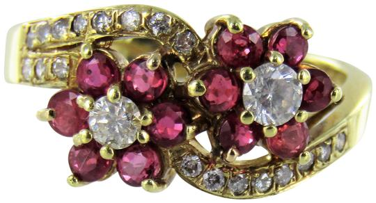 Preload https://item5.tradesy.com/images/yellow-woman-s-14kt-gold-diamond-cluster-size-7-ring-22686869-0-1.jpg?width=440&height=440