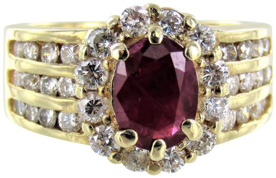 Preload https://item4.tradesy.com/images/yellow-woman-s-14kt-gold-diamondruby-cocktail-size-6-ring-22686898-0-1.jpg?width=440&height=440