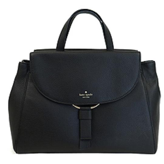 Preload https://img-static.tradesy.com/item/22687013/kate-spade-black-leather-satchel-0-0-540-540.jpg