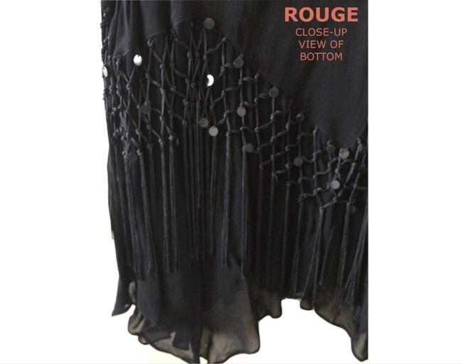 Rouge Maxi Skirt BLACK