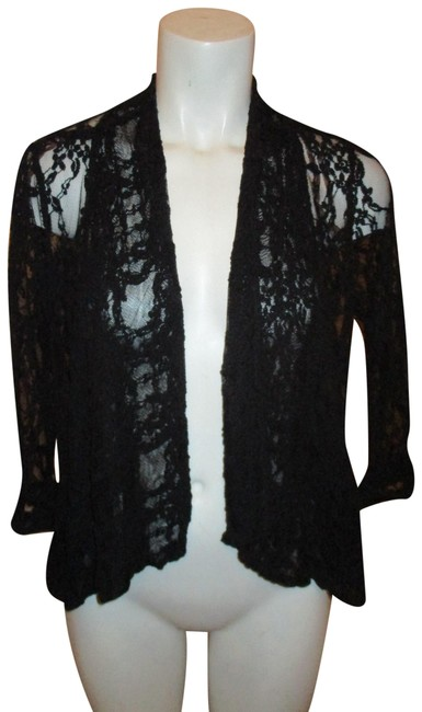 Preload https://item3.tradesy.com/images/miss-chievous-black-34-sleeve-lace-cardigan-size-4-s-22687272-0-1.jpg?width=400&height=650