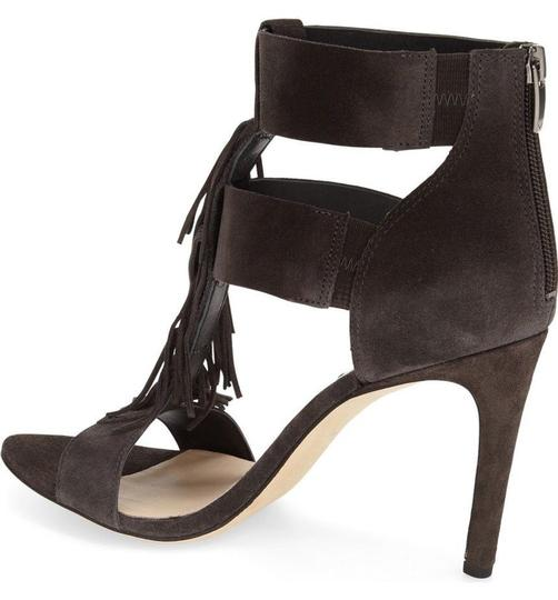 Via Spiga White New Summer Chunky Heel black Sandals
