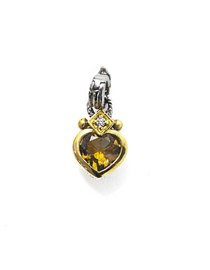 Preload https://item5.tradesy.com/images/judith-ripka-silver-sterling-and-18k-gold-canary-crystal-heart-pendent-enhancer-22687309-0-0.jpg?width=440&height=440