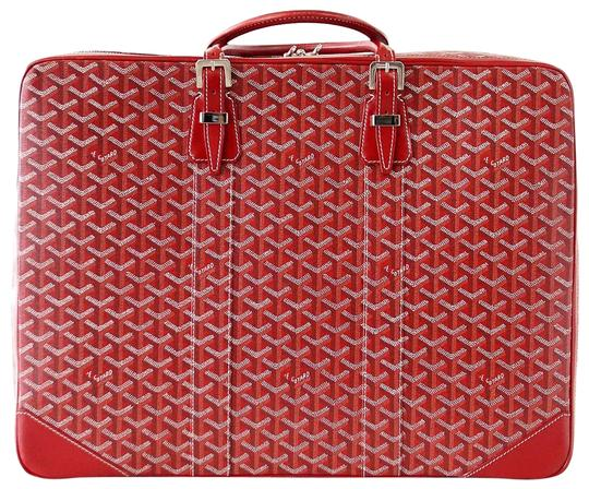 Preload https://item3.tradesy.com/images/goyard-red-and-white-suitcase-soft-signature-monogram-majordome-50-palladium-fit-22687352-0-1.jpg?width=440&height=440
