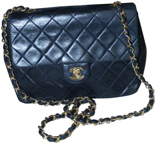 Preload https://item2.tradesy.com/images/chanel-mini-vintage-black-lambskin-leather-shoulder-bag-22687371-0-1.jpg?width=440&height=440