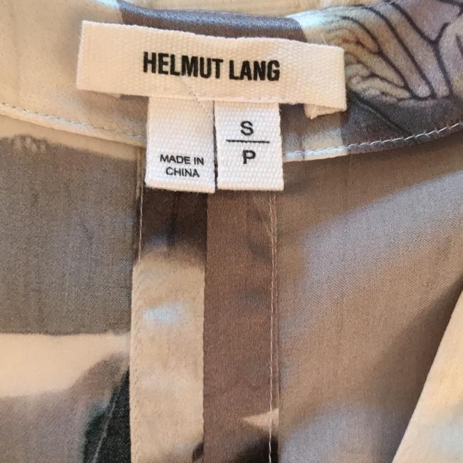 Helmut Lang Top Black/Silver/Gray