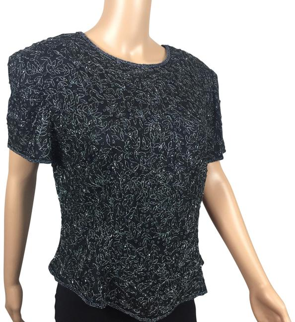 Preload https://img-static.tradesy.com/item/22687445/papell-boutique-black-evening-beaded-silk-blouse-size-16-xl-plus-0x-0-1-650-650.jpg