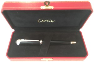 Cartier Cartier Pen / Roadster Black Resin -Palladium
