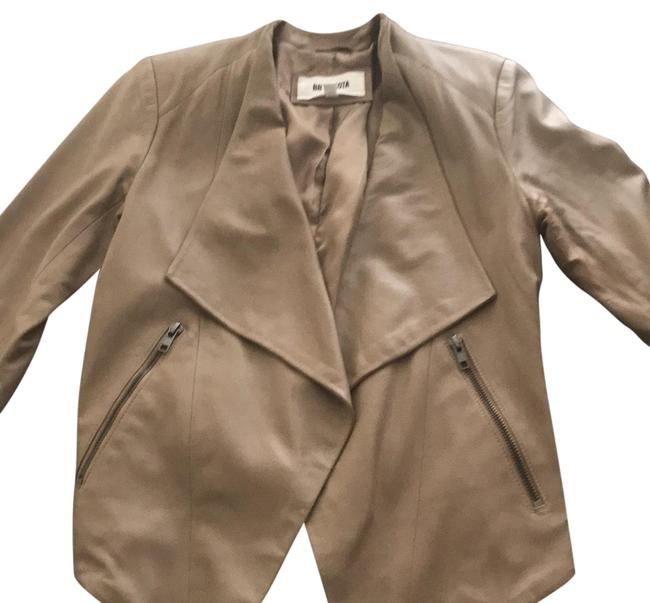 BB Dakota taupe Leather Jacket