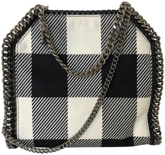 Preload https://item2.tradesy.com/images/stella-mccartney-falabella-mini-plaid-black-and-white-virgin-wool-shoulder-bag-22687566-0-1.jpg?width=440&height=440