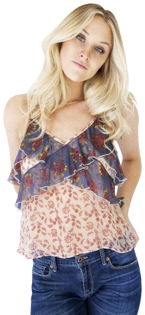 Preload https://img-static.tradesy.com/item/22687567/free-people-all-things-ruffled-tank-camisole-blouse-size-6-s-0-2-650-650.jpg