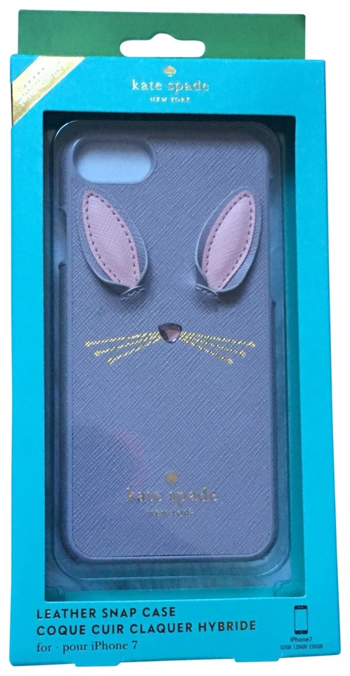 new styles 809a6 ceb8f Gray Iphone 7 Bunny Case