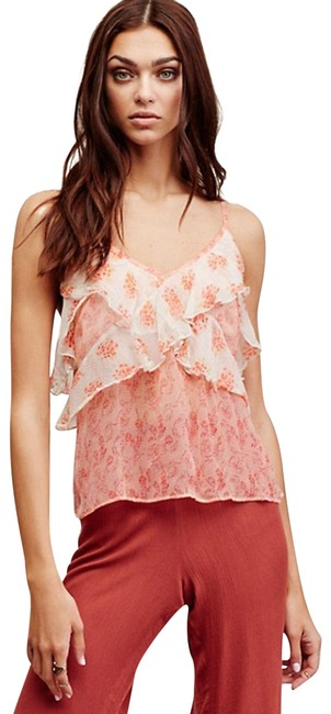 Preload https://img-static.tradesy.com/item/22687669/free-people-all-things-ruffled-tank-camisole-blouse-size-2-xs-0-1-650-650.jpg