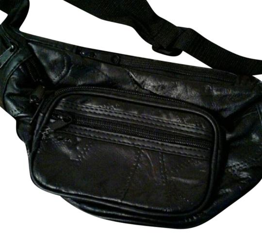 Preload https://item5.tradesy.com/images/fanny-pack-black-lambskin-leather-weekendtravel-bag-22687674-0-1.jpg?width=440&height=440