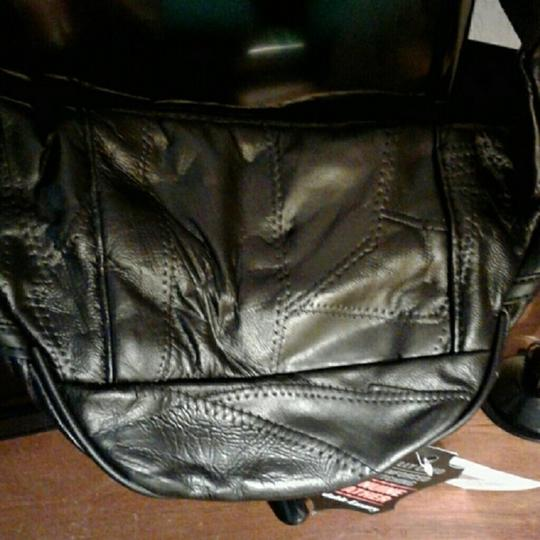 Maxim Fanny Pack Leather New Black Travel Bag