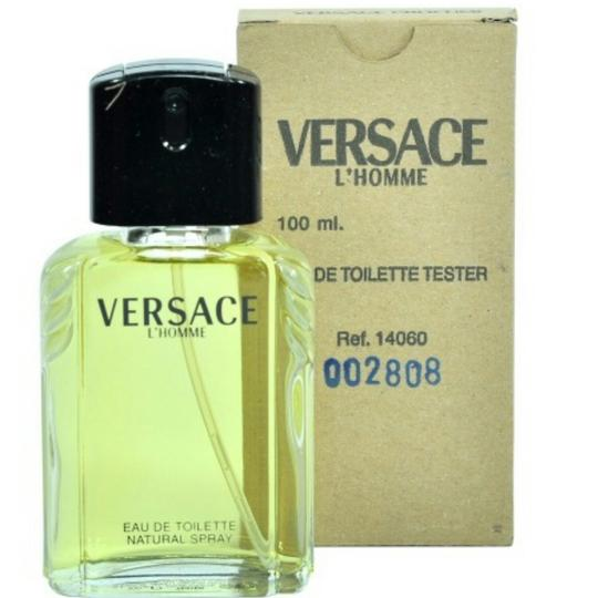 Versace VERSACE L'HOMME FOR MEN-EDT-100 ML-TESTER-MADE IN ITALY