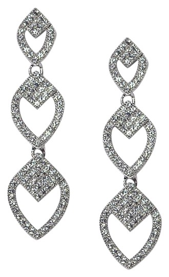 Preload https://img-static.tradesy.com/item/22687693/ny-collection-silver-womens-white-cz-push-back-drop-dangle-925-sterling-earrings-0-1-540-540.jpg