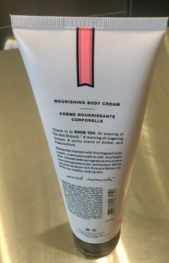 Victoria's Secret Brand New Discontinued Room 504 Nourishing Body Cream