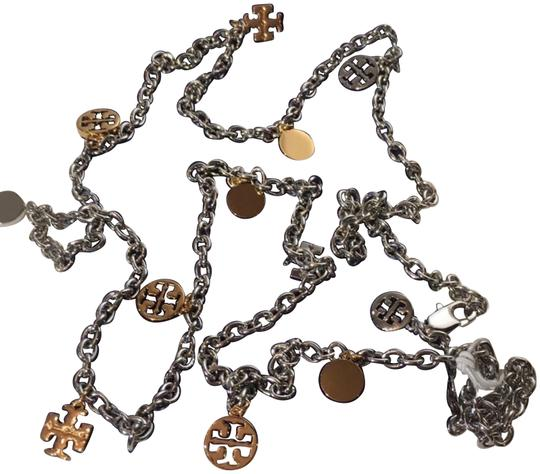 Preload https://item5.tradesy.com/images/tory-burch-logo-chain-rosary-necklace-22687714-0-5.jpg?width=440&height=440