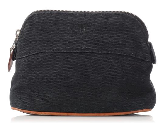 Preload https://item3.tradesy.com/images/hermes-black-bolide-canvas-cosmetic-bag-22687717-0-0.jpg?width=440&height=440