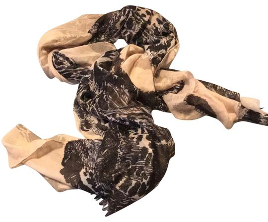 Preload https://img-static.tradesy.com/item/22687749/black-and-taupe-on-the-wild-side-scarfwrap-0-3-540-540.jpg