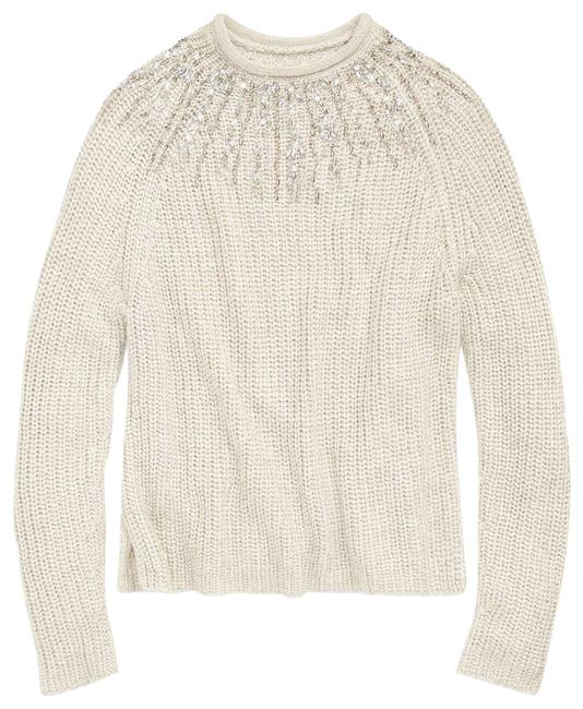 Preload https://item3.tradesy.com/images/polo-ralph-lauren-beaded-rollneck-taupe-sweater-22687882-0-1.jpg?width=400&height=650
