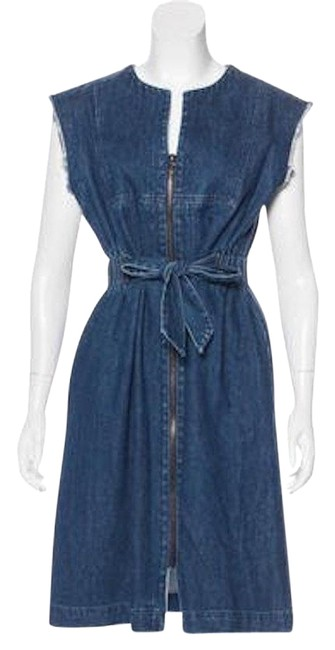 Preload https://img-static.tradesy.com/item/22687910/sea-denim-with-raw-edge-trim-short-casual-dress-size-4-s-0-5-650-650.jpg