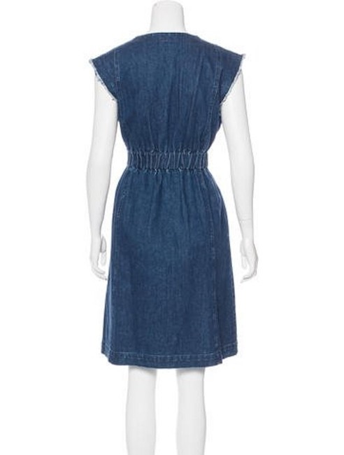 Sea short dress Denim Raw Edge Ny Ny on Tradesy