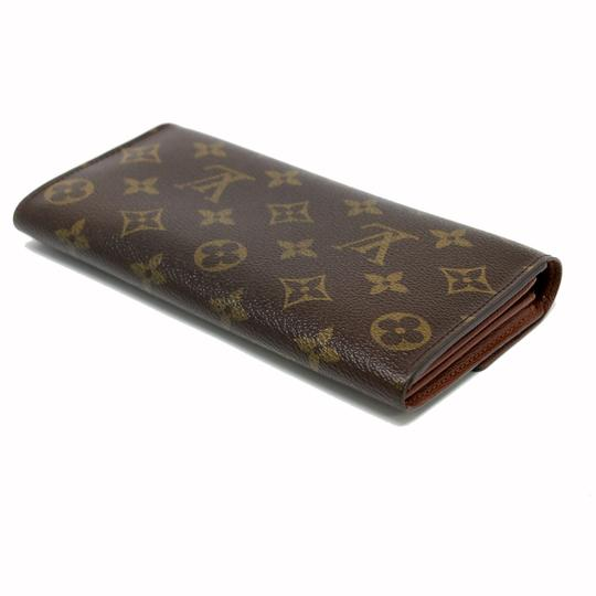 Louis Vuitton Signature LV Monogram Sarah International Made in France Travel Wallet