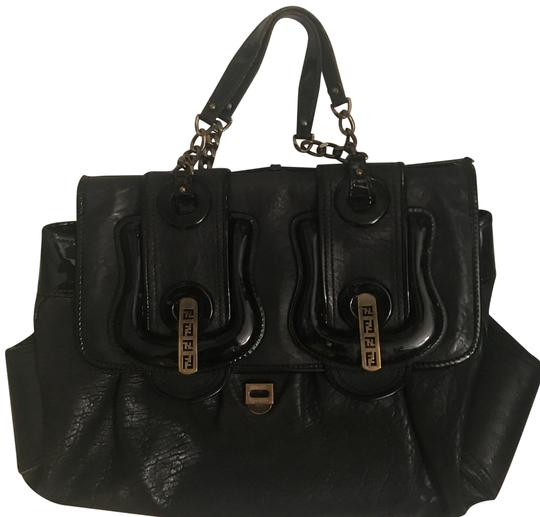 Preload https://img-static.tradesy.com/item/22687951/fendi-large-b-black-leather-satchel-0-1-540-540.jpg