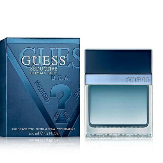 Guess GUESS SEDUCTIVE HOMME BLUE-EDT-100 ML-MADE IN USA