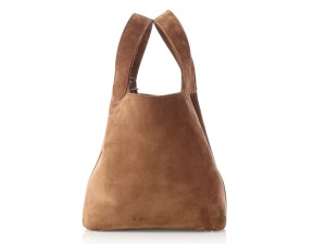 Hermès Suede Tan Hr.l1115.02 Vintage Reduced Price Tote in Brown