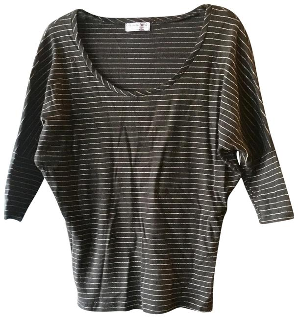 Preload https://item5.tradesy.com/images/michael-stars-black-and-gold-34-sleeve-tee-shirt-size-os-one-size-22688099-0-1.jpg?width=400&height=650