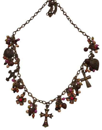 Preload https://item3.tradesy.com/images/premier-designs-bronze-color-metal-with-beads-and-crystals-necklace-22688132-0-1.jpg?width=440&height=440