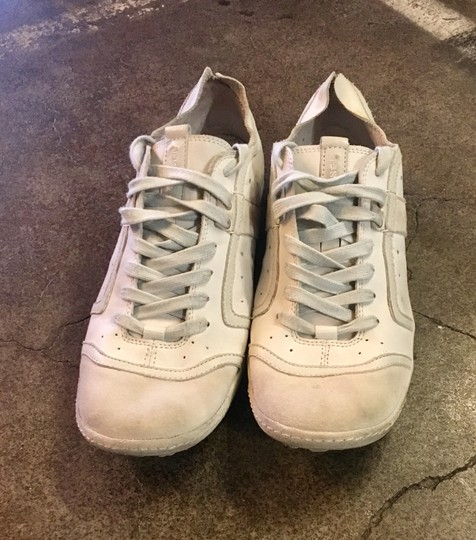 Diesel White Leather Athletic