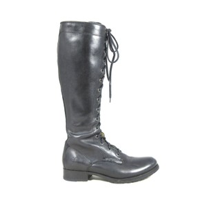 Frye Riding Equestrian Rugged black Boots