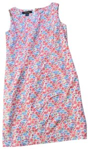 Brooks Brothers short dress floral on Tradesy