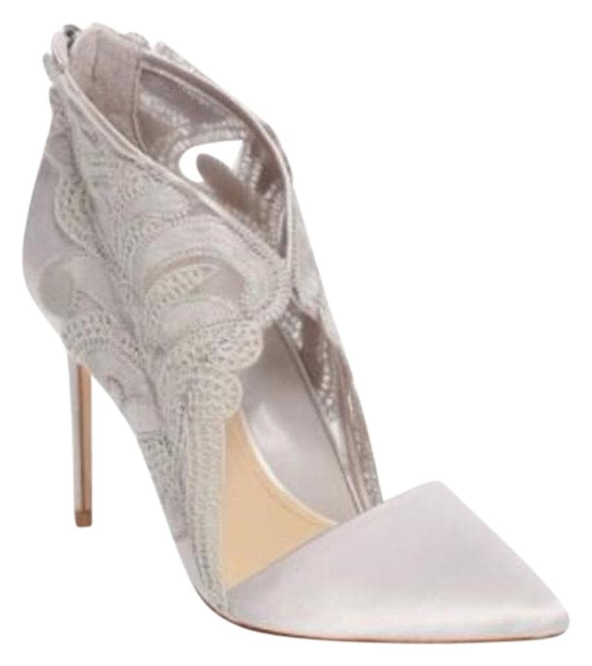9ba87ff33bc Imagine by Vince Camuto Gray Obin Stiletto Formal Shoes Size US 7 ...