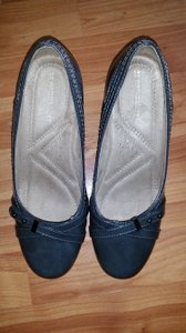 Naturalizer Shiney 7w Grey Wedges