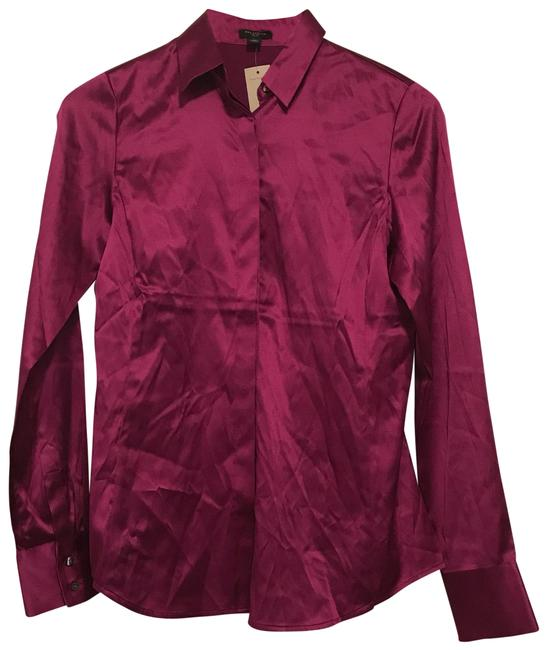 Preload https://item2.tradesy.com/images/ann-taylor-berry-glaze-silk-legacy-button-down-top-size-2-xs-22688356-0-1.jpg?width=400&height=650