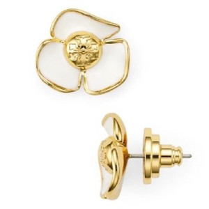 Tory Burch fleur studs earrings