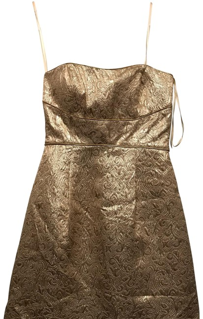 Preload https://img-static.tradesy.com/item/22688433/max-and-cleo-gold-strapless-party-short-cocktail-dress-size-2-xs-0-1-650-650.jpg