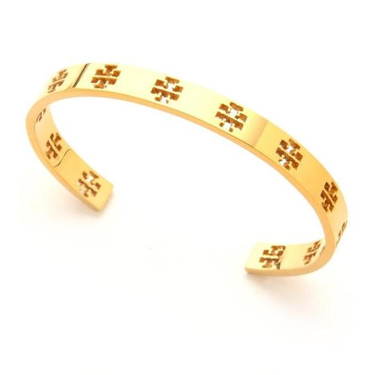 Preload https://img-static.tradesy.com/item/22688453/tory-burch-golden-t-cuff-bracelet-0-0-540-540.jpg