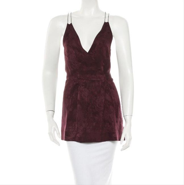 The Row Top Mulberry Purple