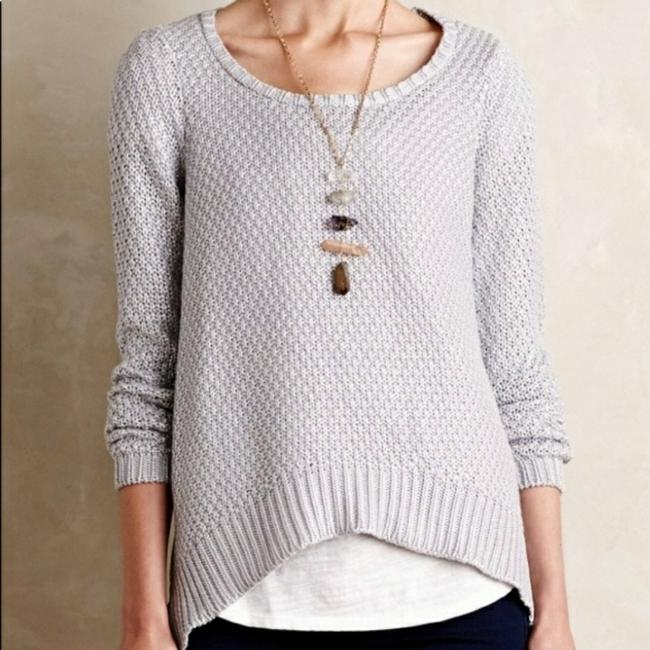 Preload https://item1.tradesy.com/images/anthropologie-silver-moth-metallic-sweaterpullover-size-2-xs-22688540-0-1.jpg?width=400&height=650
