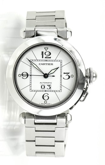 Preload https://item4.tradesy.com/images/cartier-stainless-steel-pasha-unisex-watch-22688623-0-0.jpg?width=440&height=440