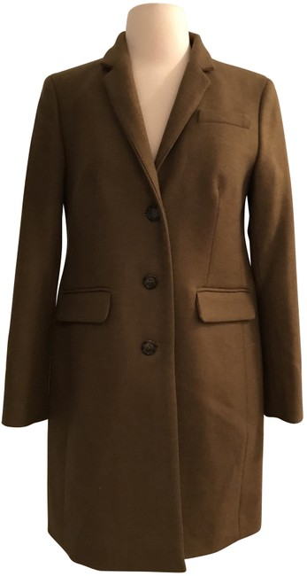 Preload https://img-static.tradesy.com/item/22688701/jcrew-heather-olive-regent-topcoat-in-double-serge-wool-4p-size-petite-4-s-0-1-650-650.jpg