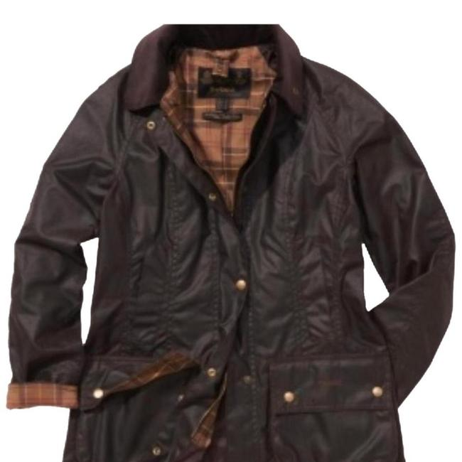 Preload https://item5.tradesy.com/images/barbour-rustic-beadnell-raincoat-size-14-l-22688704-0-0.jpg?width=400&height=650