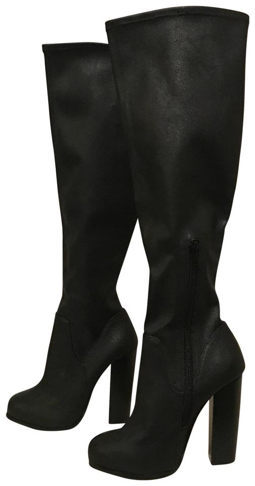 352291a6583 Steve Madden Never Worn - Black Capshur Knee High Boots/Booties Size US 5  Regular (M, B)